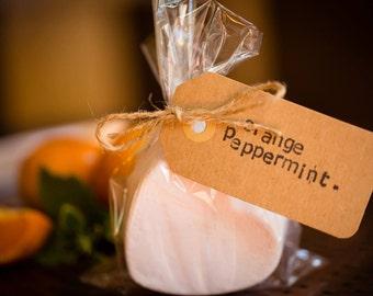 Orange Peppermint Bath Fizzie