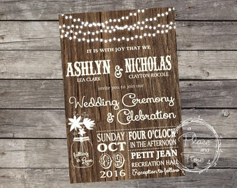 Printable Wedding Invitation