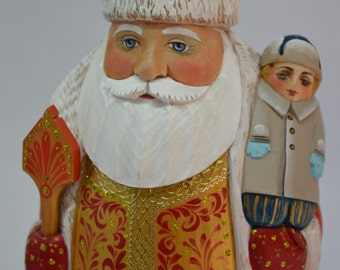 Santa Claus with a child