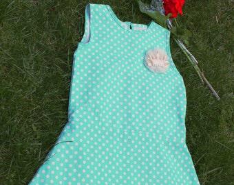 lovely dot summer dress