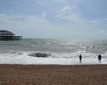 """Brighton Beach, West Pier 12x16"""" Photograph / Print"""