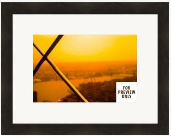 A New York Skyline Framed