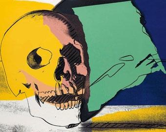 Andy Warhol - Skull 1976