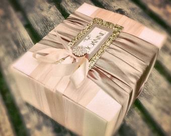 Bridesmaid Gift Presentation box & gifts- Blush Gift Box