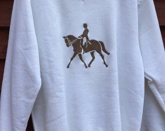 Dressage Horse Sweatshirt