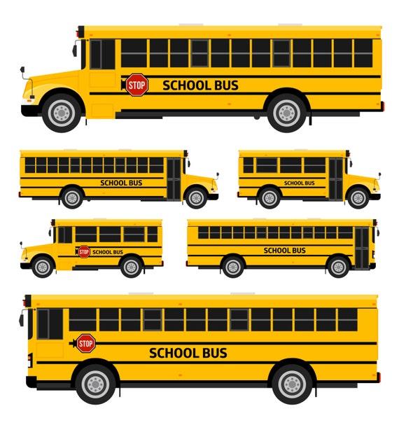 School Bus Clipart School Bus Clip Art Kawaii School Bus