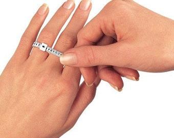 Adjustable ring Sizer / Finger Measurement