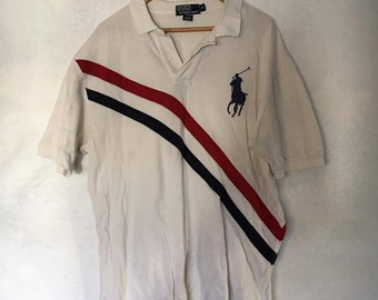 Ralph Lauren Vintage 2 Stripe Polo