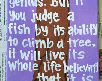 """Dr Seuss Quote """"Everybody is a genius..."""""""