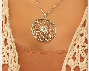 Sacred Geometry Pendant Necklace