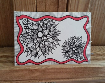 Exploding Flowers - Trading Card