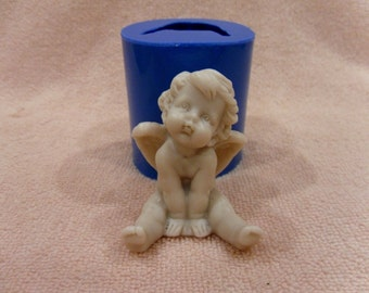 Angel 2 - silicone mold for soap and candles making mould molds