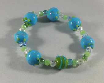 Swirly Earthy Colored Bracelet