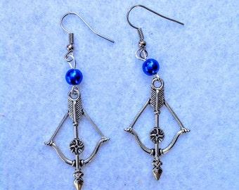 Arrow pair of earrings