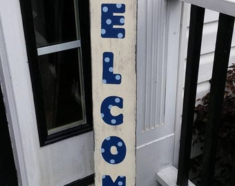 Handcrafted\Painted Welcome Sign Home Decor
