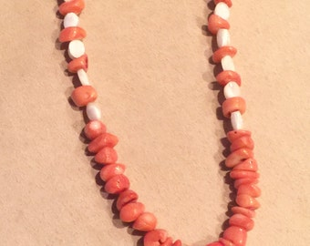 Starfish coral choker