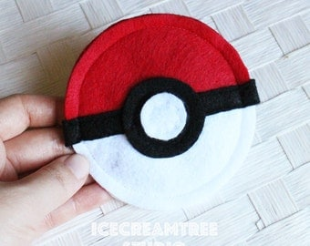 Pokeball Catnip Toy, Catnip Ball, Pokemon Cat Toy, Pokemon Go Pet, Kitty Kicker