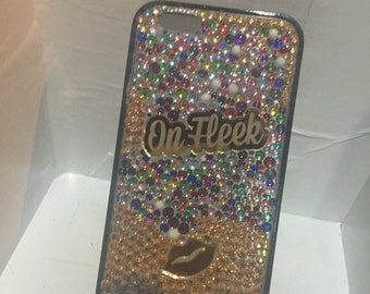 3D bedazzled bling iphone 6 case