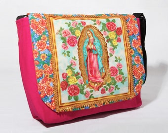 Virgen de Guadalupe  - Messenger bag