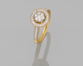 14 k diamond engagement ring Diamond 0.90 CT