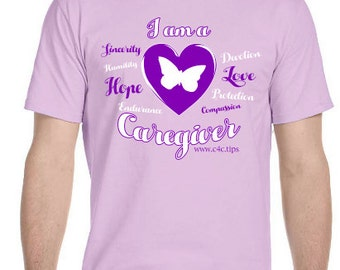 I Am A Caregiver - 4X T-Shirt