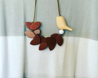 Birdie Necklace                                                      FREE shipping Australia wide