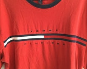 Tommy Hilfiger t shirt with classic flag logo