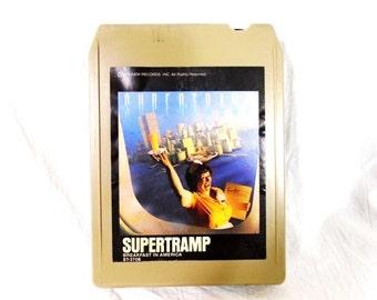 SUPERTRAMP 8 TRACK Tape Breakfast in America--Tested