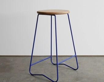 HOPA bar stool - Blue (650mm)