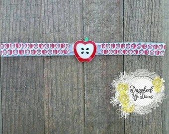 Back to School Apple Headband