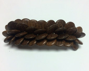 Long Wooden Barrettes made in Costa Rica
