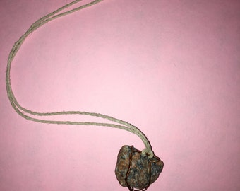 Crystal ocean energy necklace