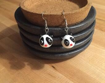 Adorable Panda Earrings