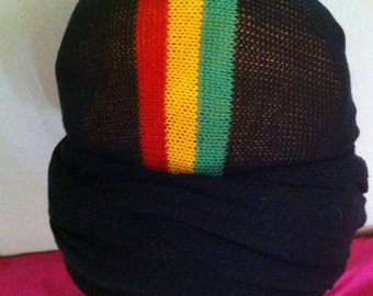 Headwrap- Various colors with red gold and green in center