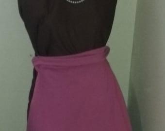 Girls L- Pink Midi Skirt