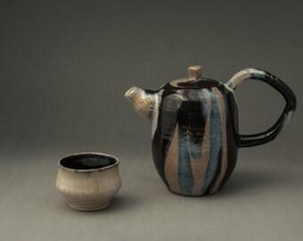 Teapot and teabowl set