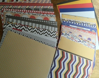 Primary Colors Paper Pack
