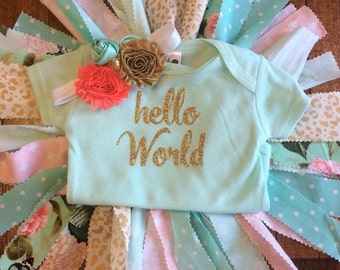 Hello world! Coming home outfit