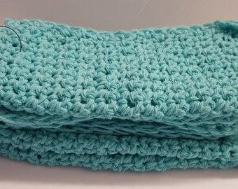 Cotton Dish Cloth, Seabreeze