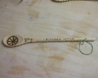 "Goddess ""Kitchen Witch"" Spoon"
