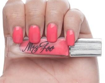 Mrs Foo Rubelite - Nail Polish Pink