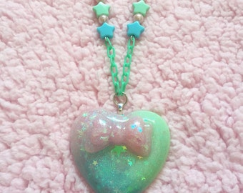 Kawaii fairy kei magical girl necklace