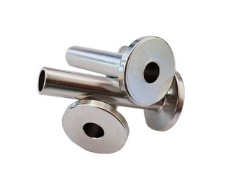 "LUX Protective Sleeves for Cable Railing Fits up to 3/16"" Cable Stainless Steel"