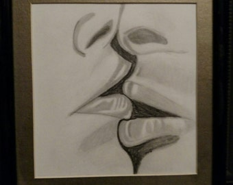 intertwined kisses