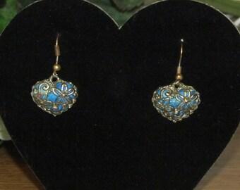 Beautiful Blue hearts