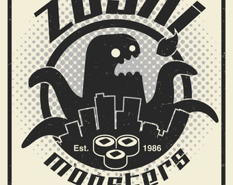 Zushi Kaiju Poster