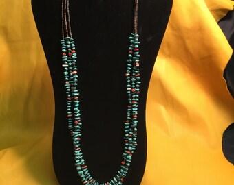 Authentic SantoDomingo Heishe Beaded Necklace