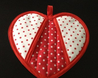 Have a Heart Potholder Pattern by Sew4Fun Australia