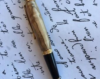 Curly Ambrosia Maple Pen