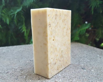 Soothing Oatmeal Honey Soap 4 oz Scented or Unscented